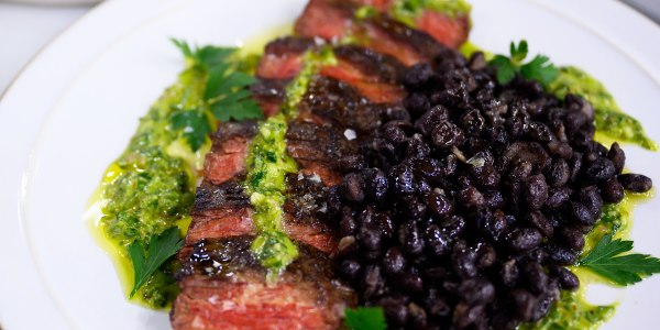 Adam Richman's Skirt Steak with Chimichurri