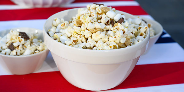 Siri's Grilled S'mores Popcorn