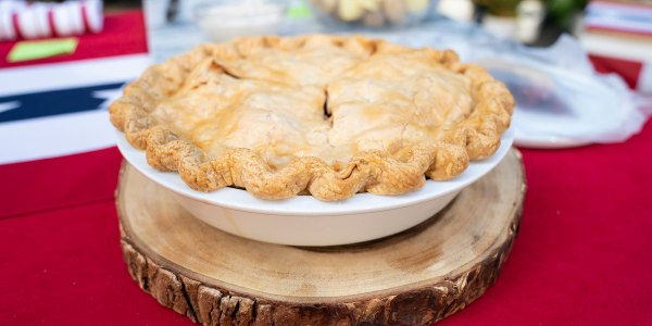 Sunny Anderson's Simple Blueberry Apple Pie