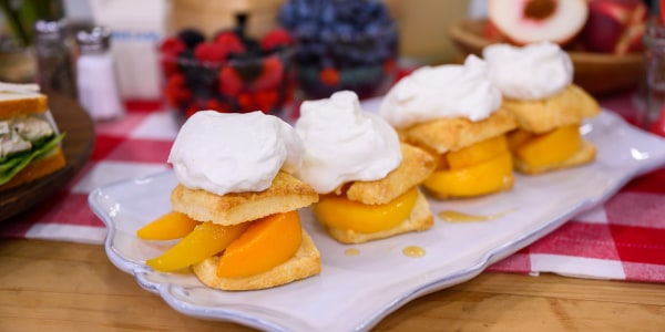 Peaches & Cream Shortcakes