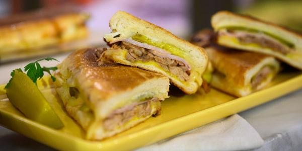 Pressed Cubano Sandwiches