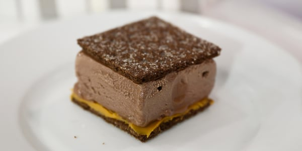 Dairy-Free Chocolate-Peanut Butter Ice Cream Sandwiches