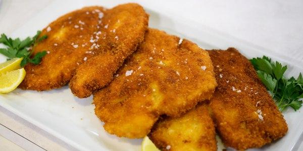 Anne Burrell's Chicken Milanese