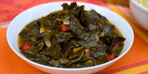 Southern Smoked Meatless Greens