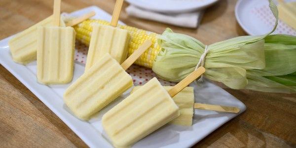 Katie Lee's Corn Ice Pops