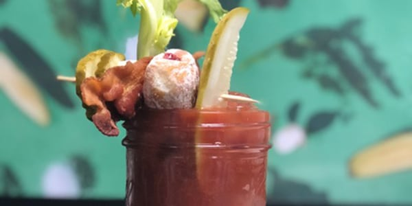 Bloody Mary with Pickle Brine