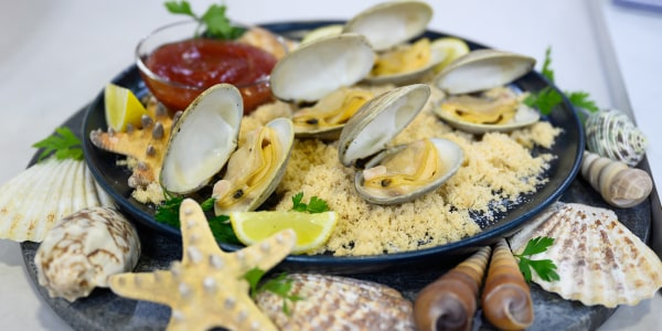 Adam Richman's Grilled Littleneck Clams