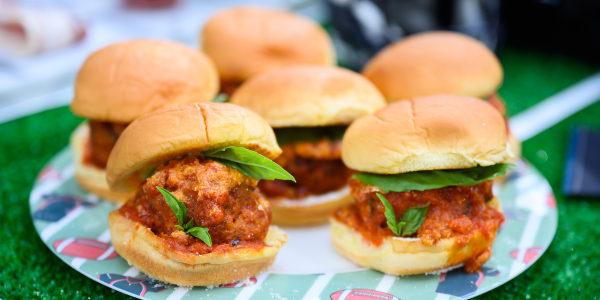 Pepperoni Meatball Sliders