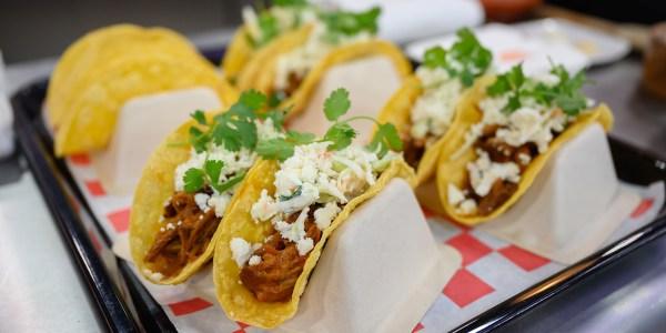 Kansas City-Style Pulled Pork Tacos