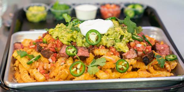 Katie Lee's Carne Asada-Loaded Fries
