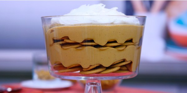 Valerie Bertinelli's Pumpkin Pudding
