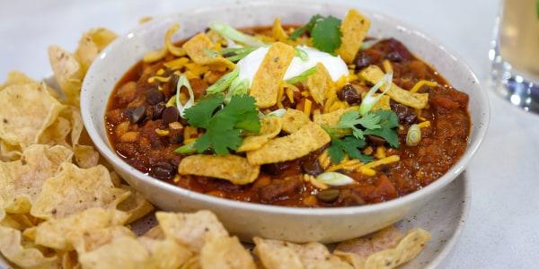 Maya Rudolph's Chocolate Chili