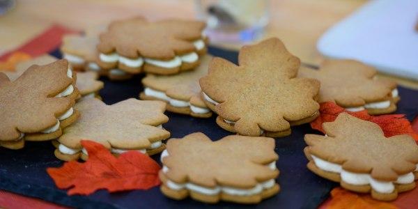 Martha Stewart's Maple-Cream Sandwich Cookies