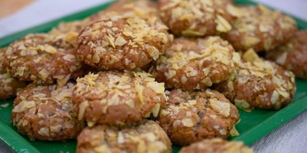 Martha Stewart's Potato Chip Cookies
