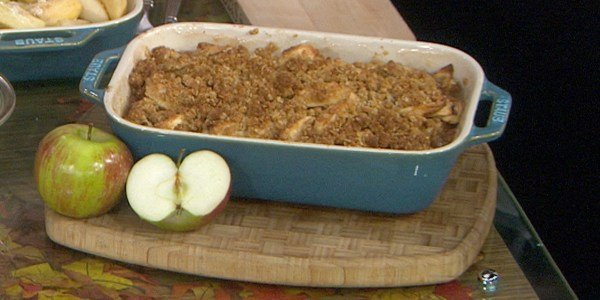 Dylan Dreyer's Apple Crisp