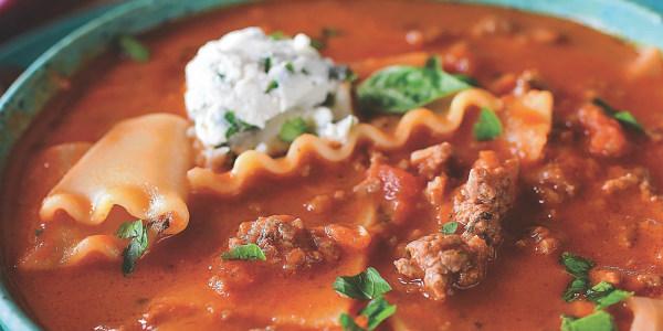 Ree Drummond's Lasagna Soup