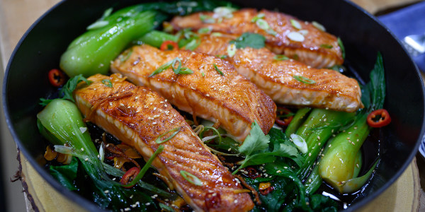 One-Pot Vietnamese Caramel Salmon