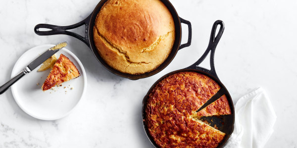 Al Roker's Skillet Cornbread, 2 Ways