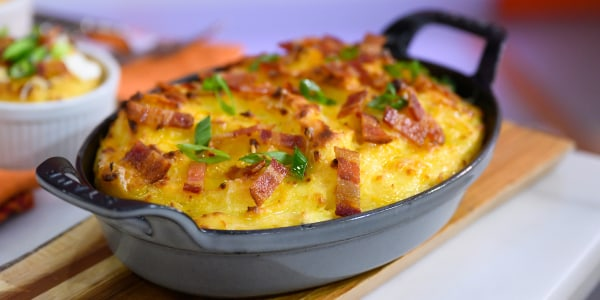 Sunny Anderson's Twice Baked Mini Potato Au Gratin