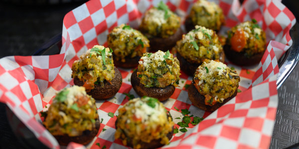 Valerie Bertinelli's Stuffed Mushrooms
