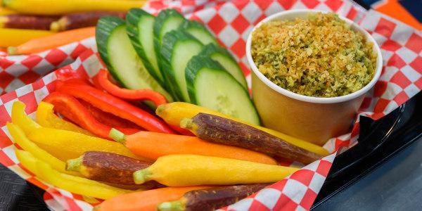 Valerie Bertinelli's Roasted Asparagus Pesto Dip