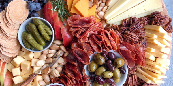 Wisconsin Cheese and Charcuterie Board