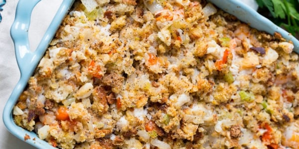 Blue Crab Stuffing with Old Bay Butter