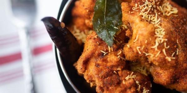 Hot Chicken Pakoras