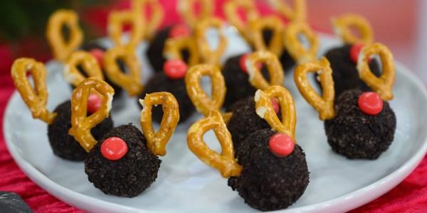 Hoda's Oreo Reindeer Truffles
