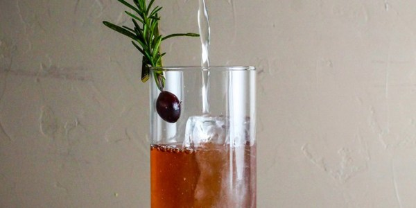Cranberry-Rosemary Mule