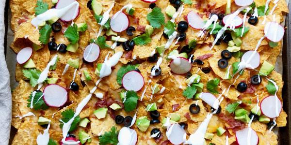 Sheet-Pan Breakfast Nachos