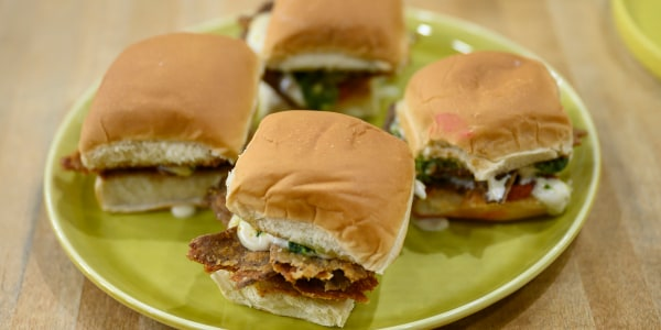 Pesto Parm Sliders