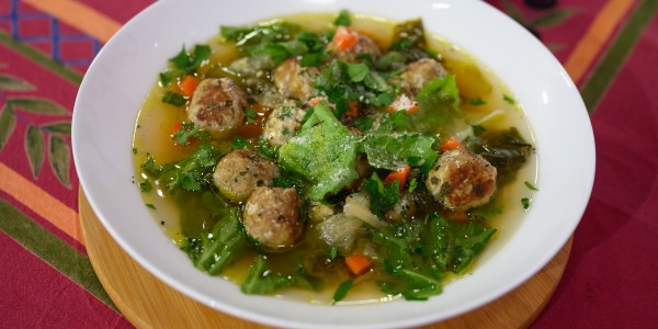 Valerie Bertinelli's Low-Carb Italian Wedding Soup
