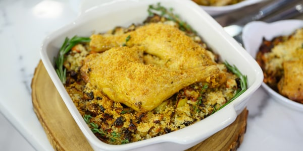 Curtis Stone's Chicken and White Bean Cassoulet