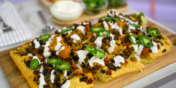 Veggie Chili Pizza