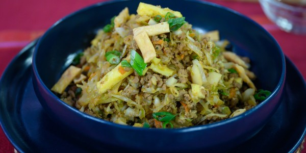 Siri Daly's Egg Roll Bowl