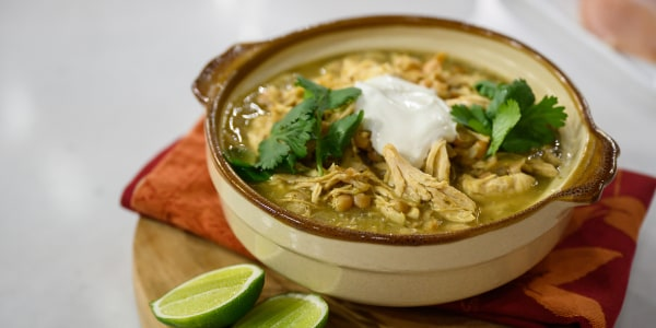 Adam Richman's Chicken Chile Verde