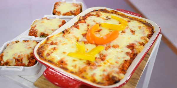 Joys Bauer's Spinach Lasagna