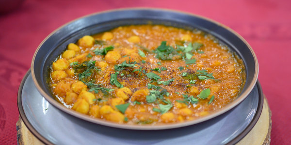 Sumac-Dusted Chana Masala