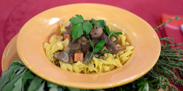 Cinnamon-Scented Beef and Vegetable Stew