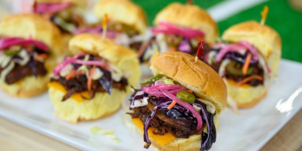 Kansas City-Style Barbecue Pulled Pork Sliders