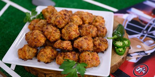 Pimento Cheese-Sausage Balls