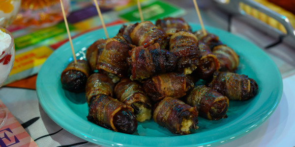 Stuffed Bacon-Wrapped Dates