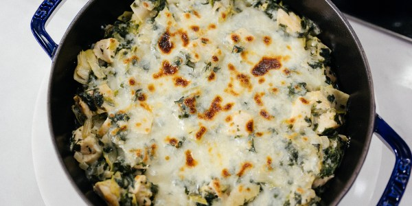 Valerie Bertinelli's One-Pot Chicken and Kale Casserole