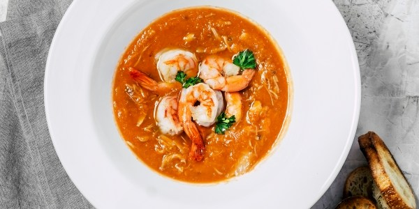 Valerie Bertinelli's Spicy Shrimp Soup