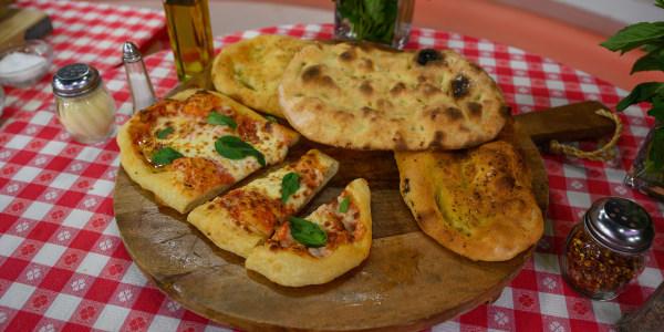 Pinsa Romana (Roman-Style Pizza)