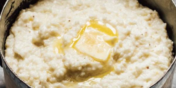 Classic Buttered Grits