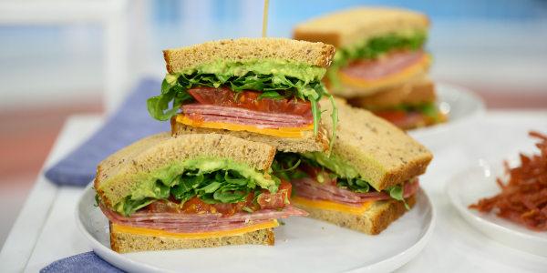 Carson Daly's Fully Loaded Avocado Sandwich