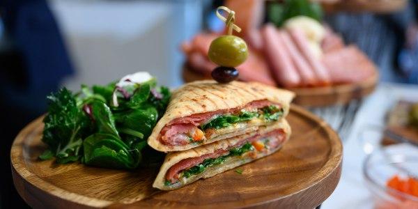 Al Roker's Muffaletta Sandwich