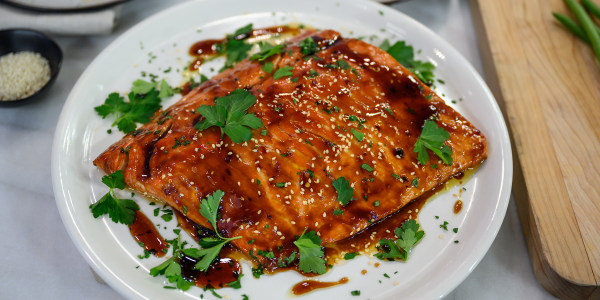 Simple Asian-Inspired Baked Salmon